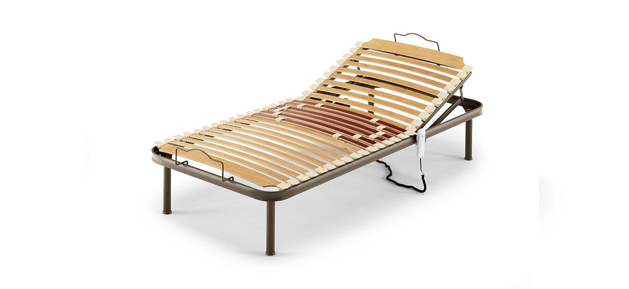 Rete motorizzata, Rete con doghe in legno | Cometa 250